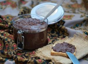 шоколадно-фасолевый крем